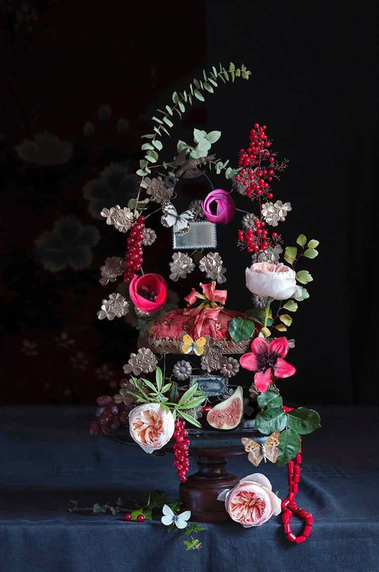 creative still life photography flowers chang ki chung
