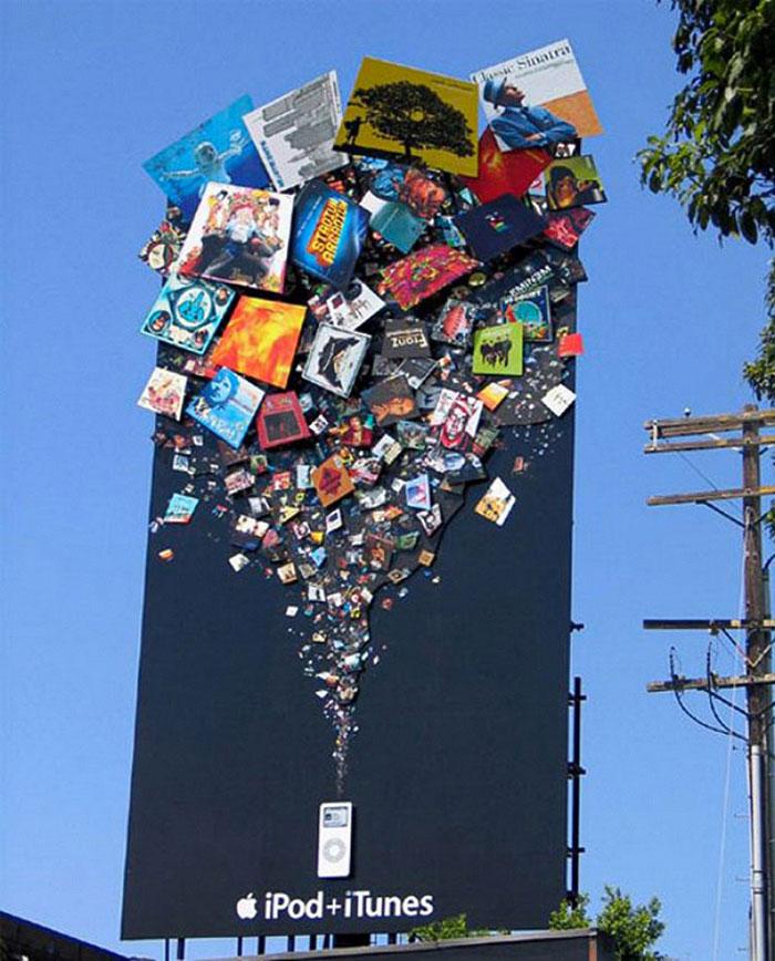 creative billboard ipod design found around world