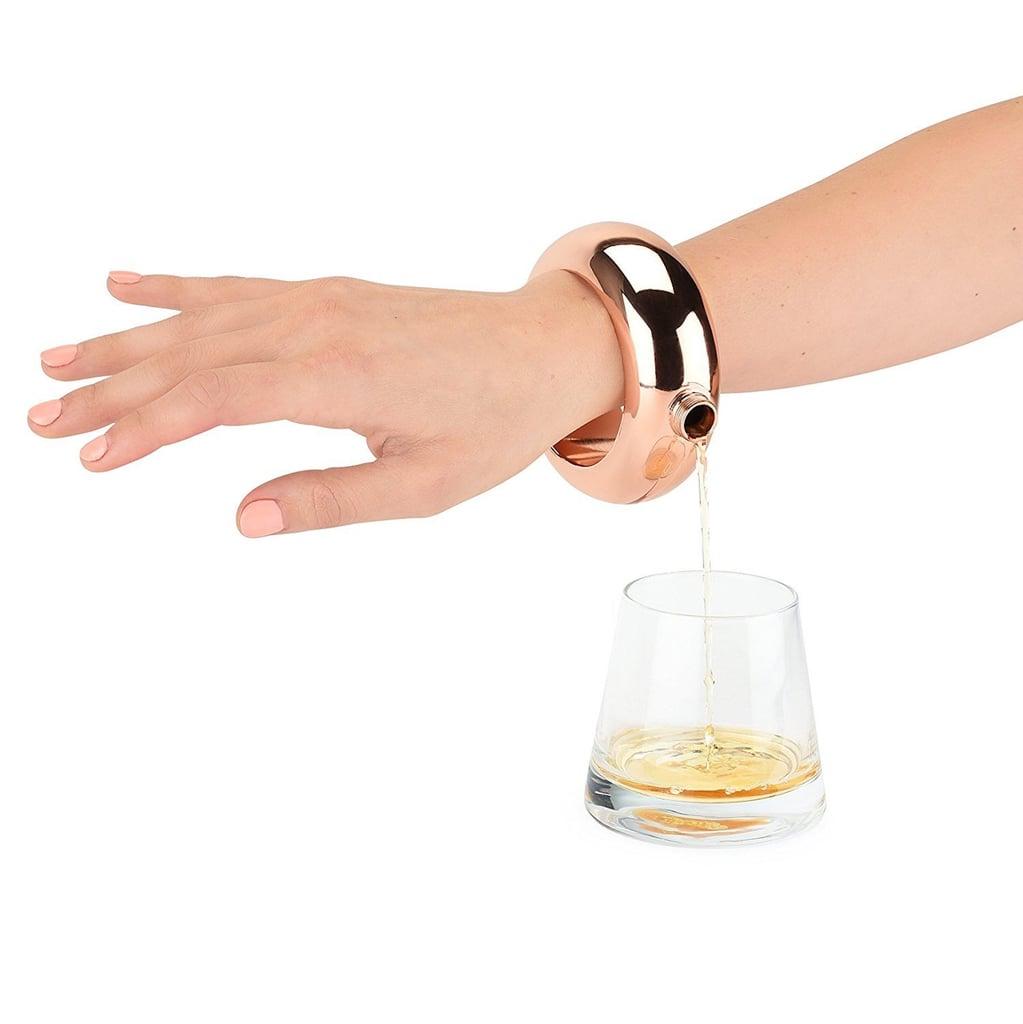 funny gift bracelet flask