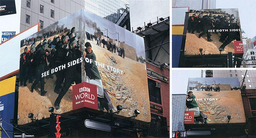 creative billboard bbc world design found around world