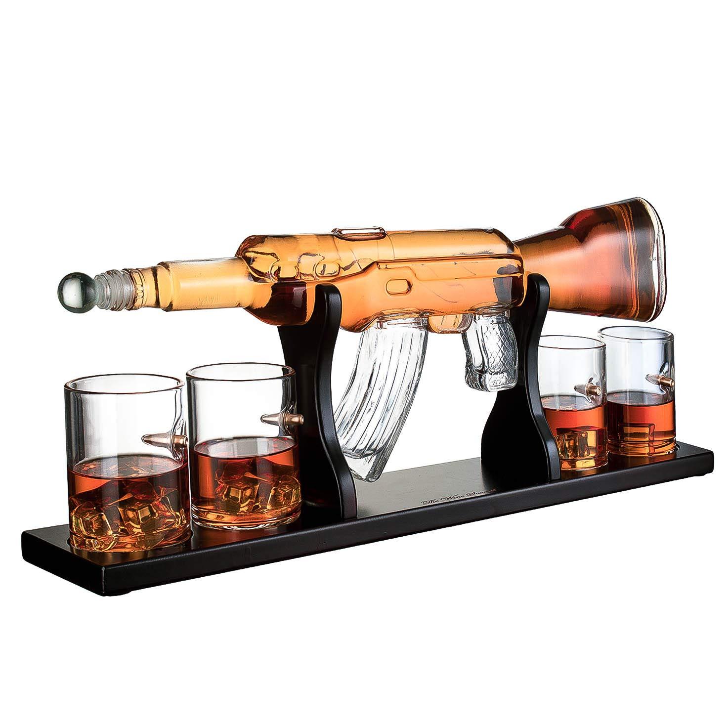 funny gift decanter shot glasses myra davis