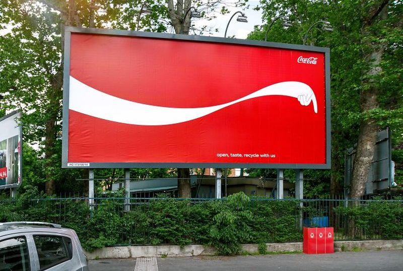creative billboard coke design found around world