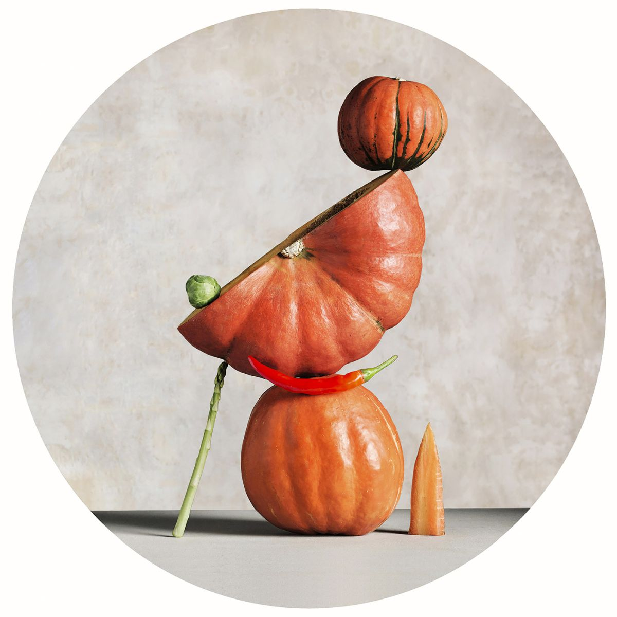 artful still life photography pumpkin chang ki chung