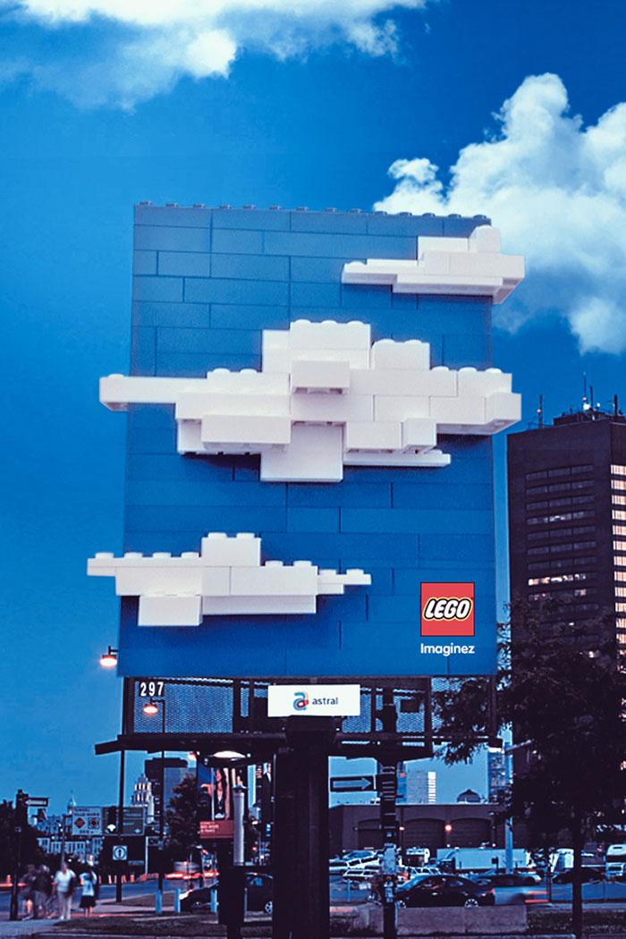 creative billboard lego design found around world