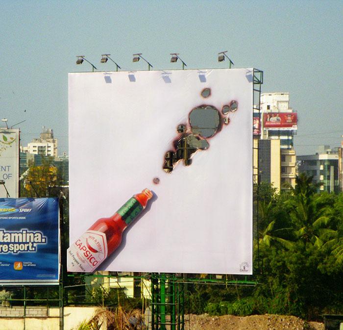 excellent billboard capsico sauce design found around world