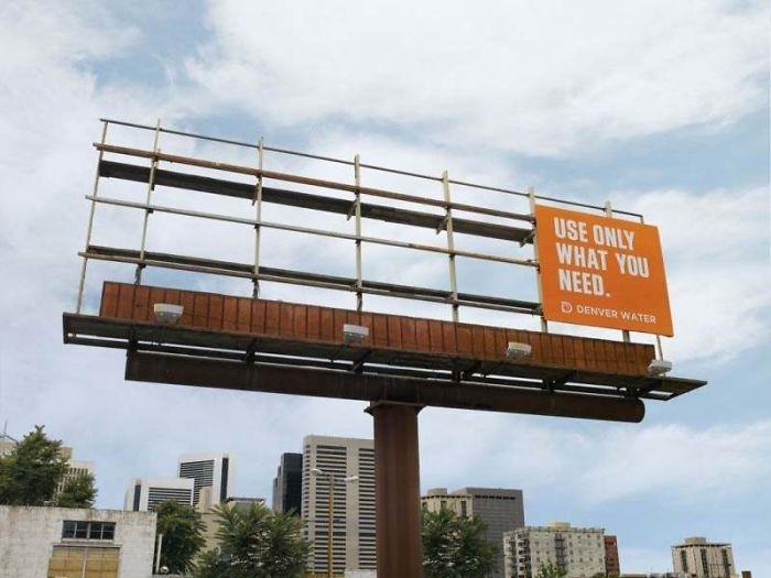 creative billboard denver water design found around world