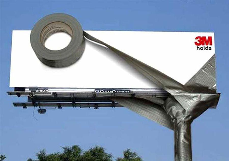 excellent billboard 3m tapes design found around world