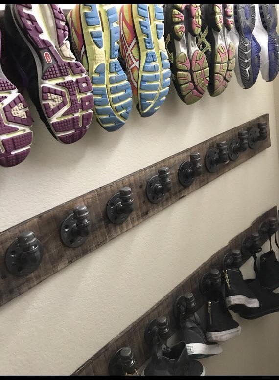 diy shoe rack ideas