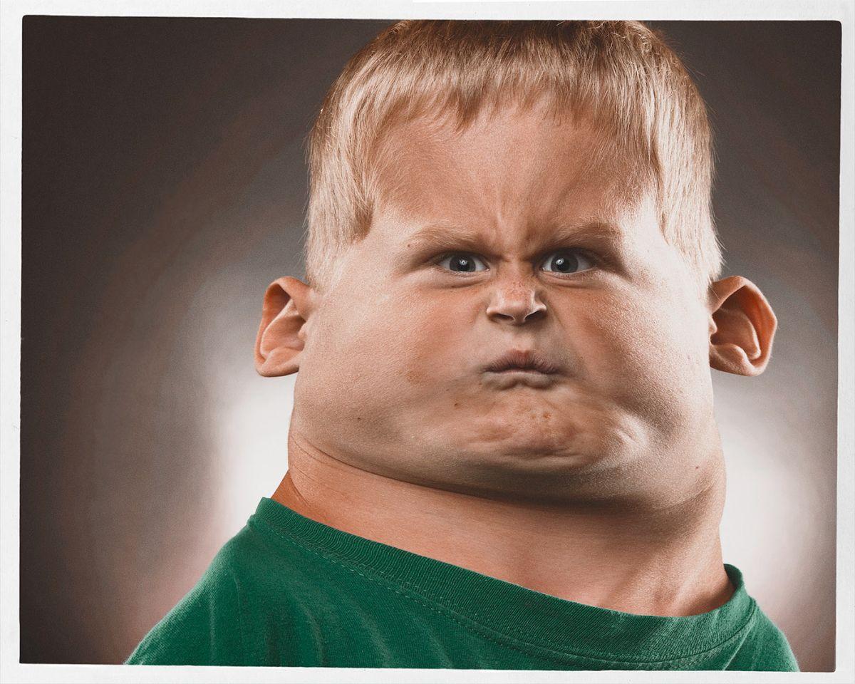 funny photo manipulation caricatures boy bert mclendon