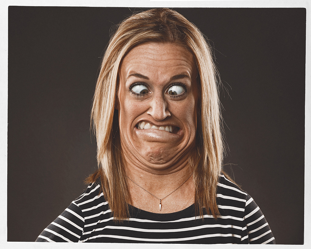 funny photo manipulation caricatures woman bert mclendon