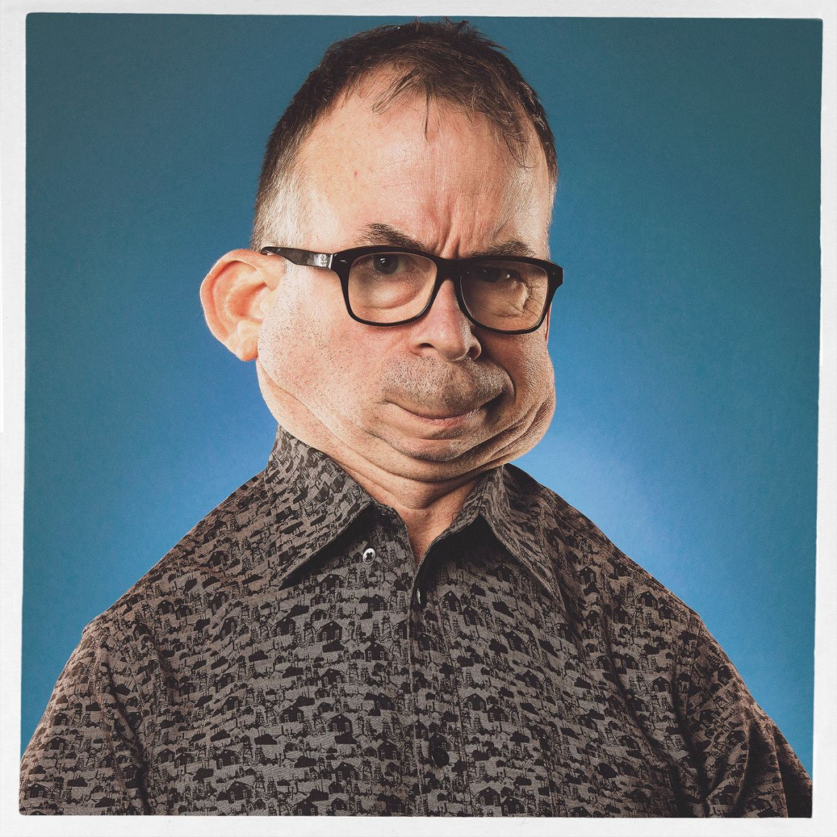 funny photo manipulation caricatures man bert mclendon