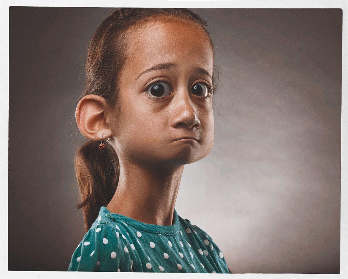 funny photo manipulation caricatures girl bert mclendon