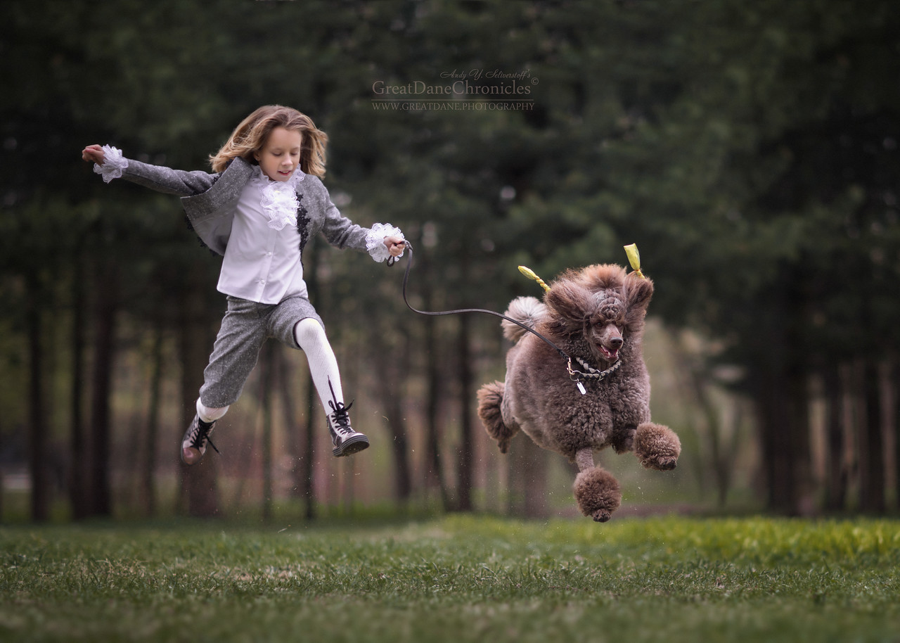 best moments kids dogs photographed andy seliverstoff