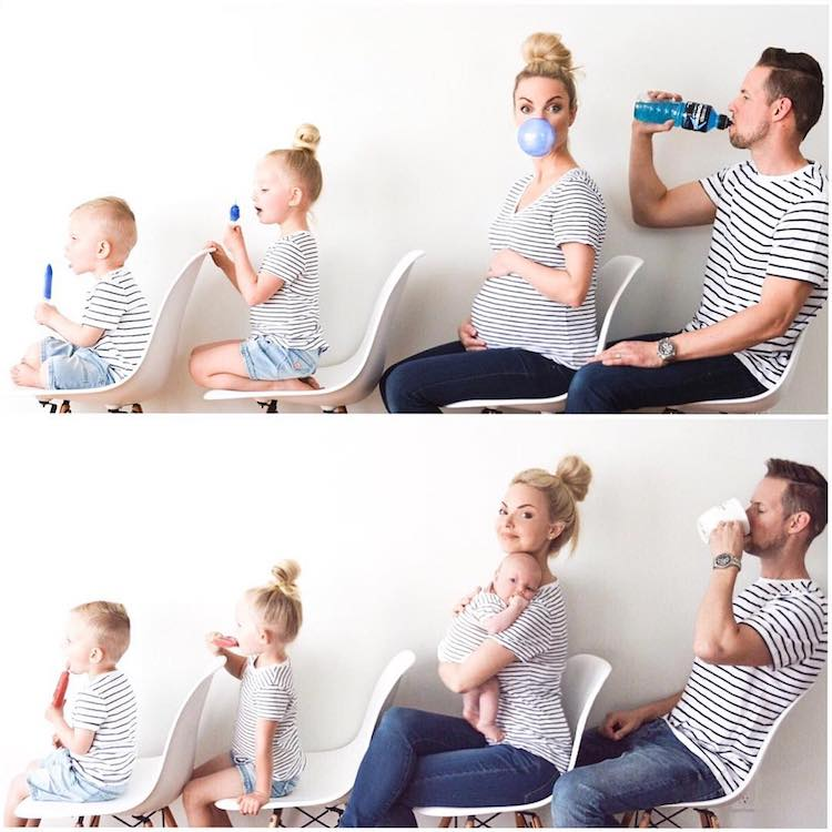 funny and creative family photos kate weiland