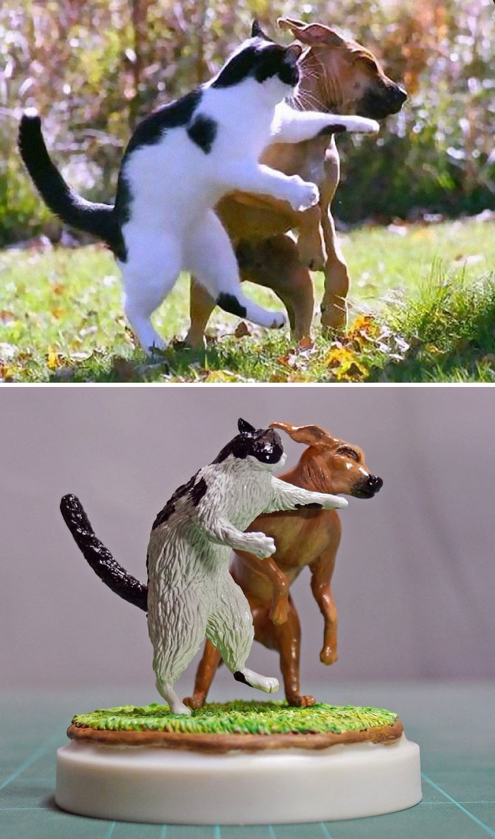 funny animal meme sculpture meetissai