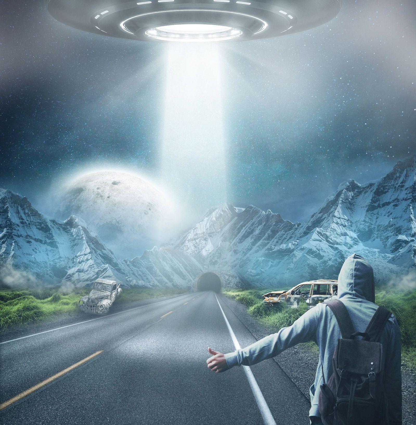 ufo photo rejoice light