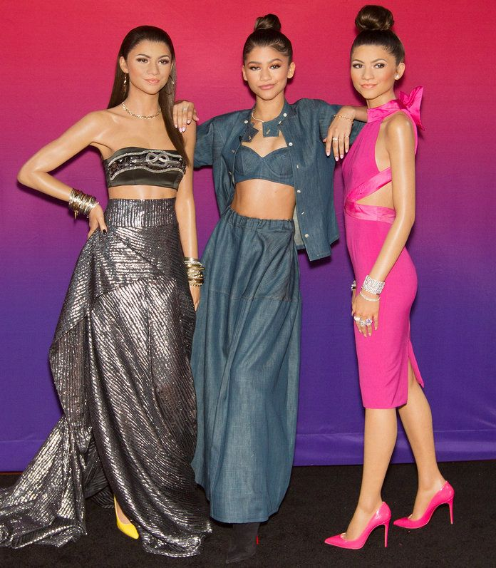 wax figure celebrity zendaya london museum