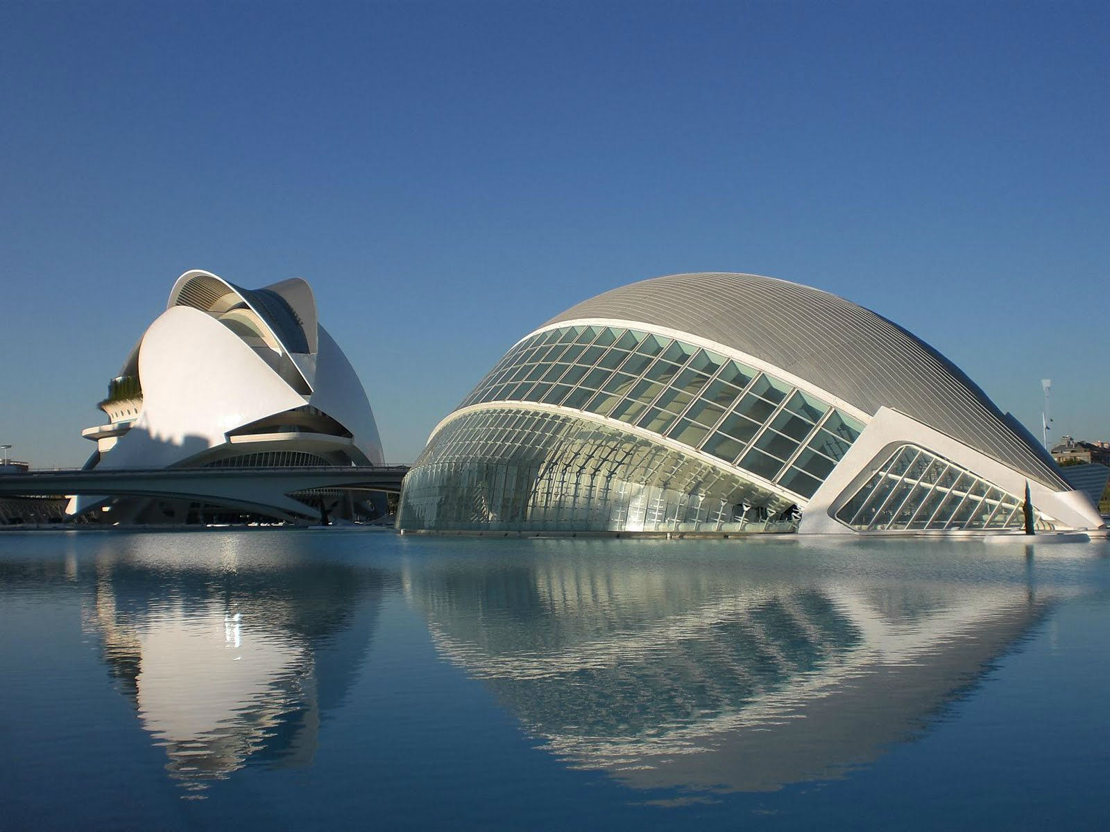 city arts and science santiago beautiful tourist place spain