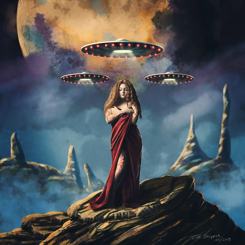 ufo photo surrender woman