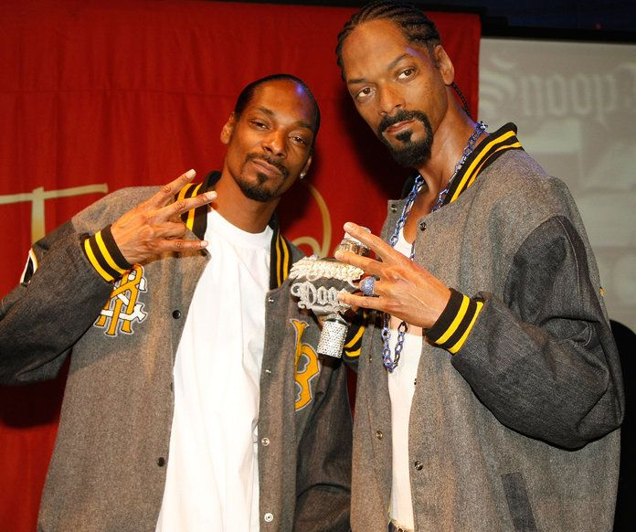 wax figure celebrity snoop dogg london museum