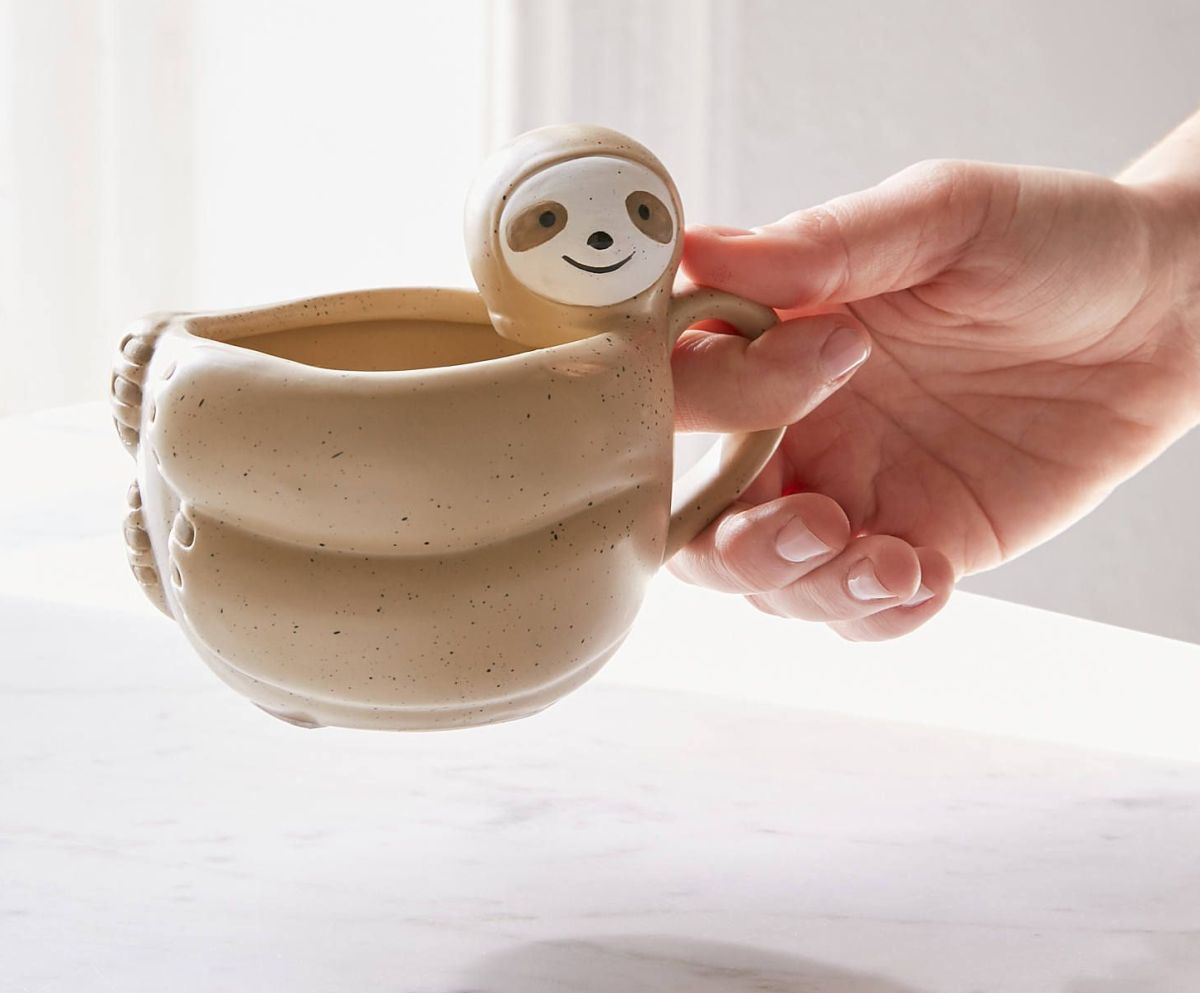funny mug design happy face