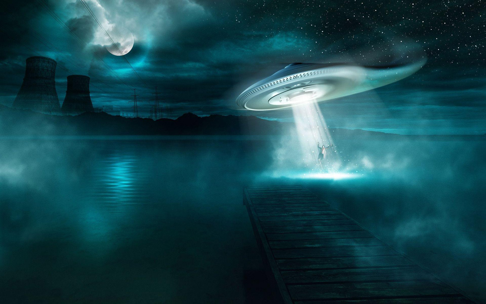 ufo picture zapping human