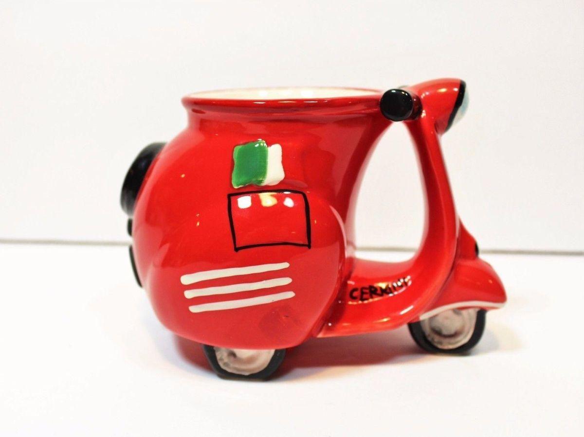funny mug dsign scooter