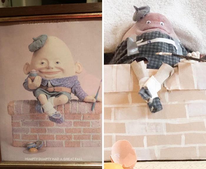 funny art recreation terrible art charity shops
