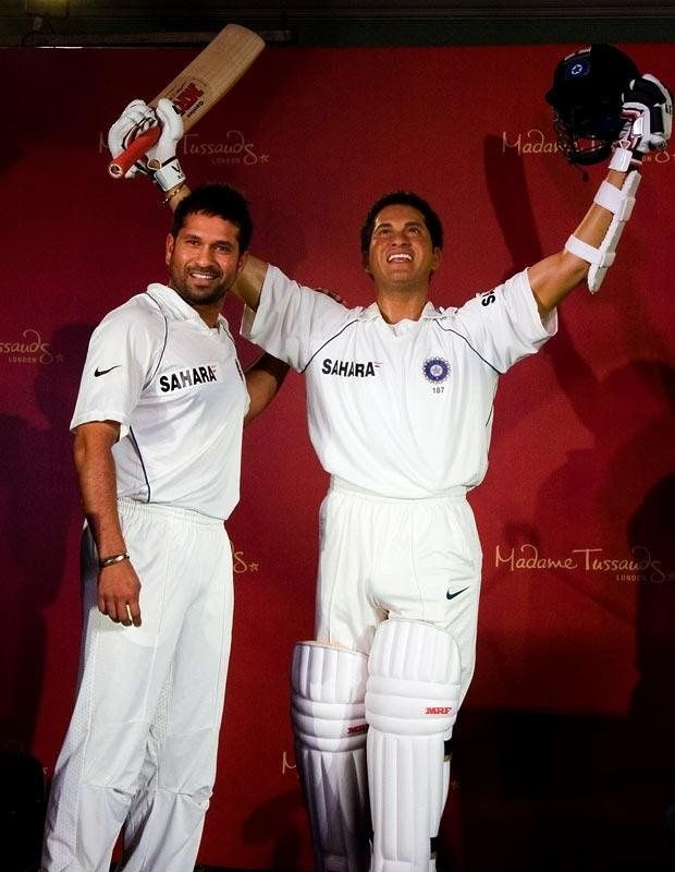 wax figure celebrity sachin tendulkar london museum