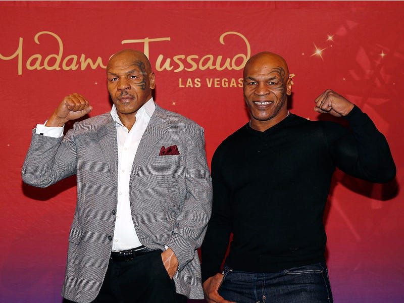 wax figure celebrity mike tyson london museum