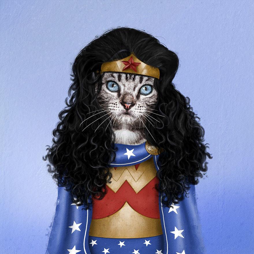 funny pet superstar meownder women andreas haggkvist