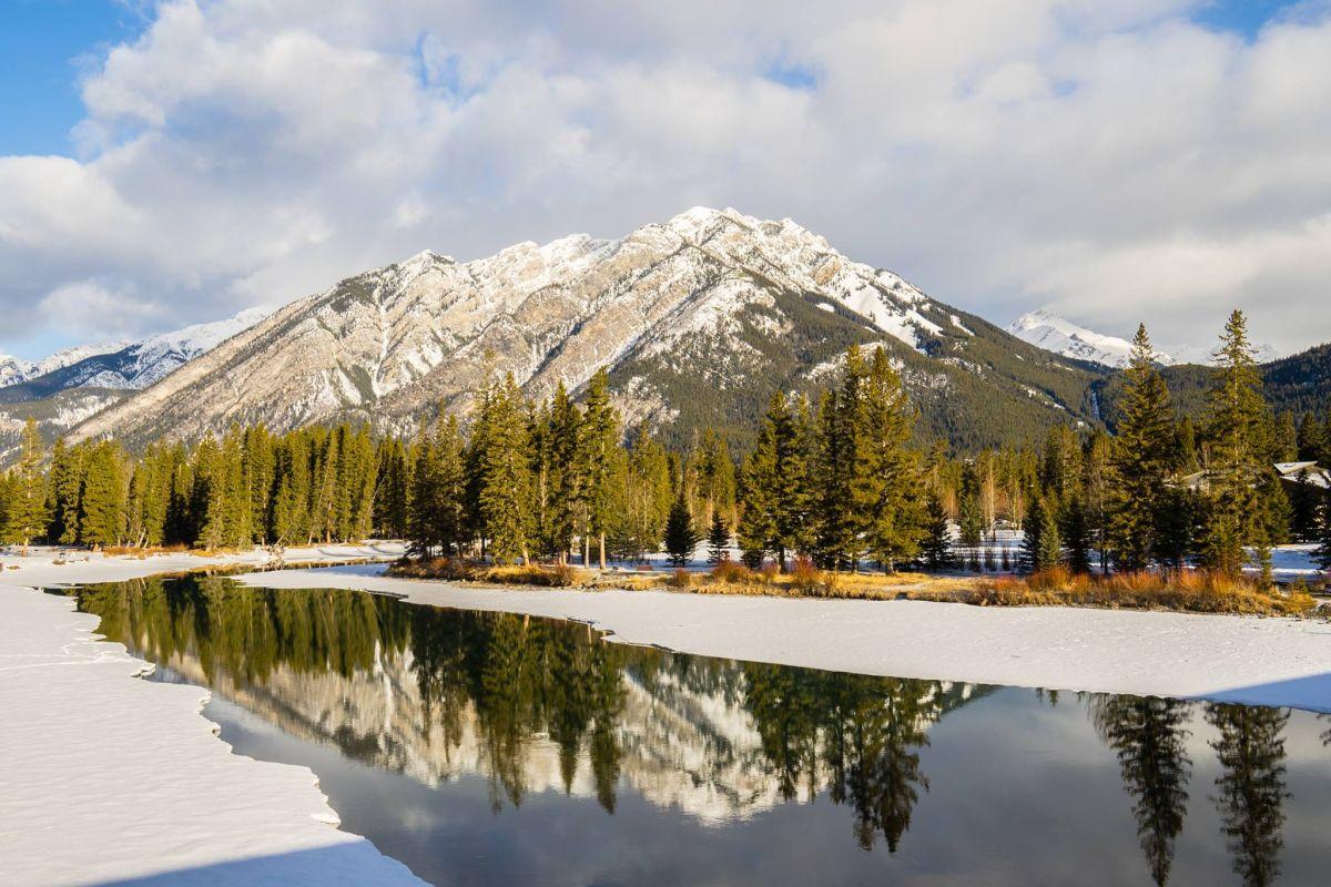 beautiful banff national park canadian rockies