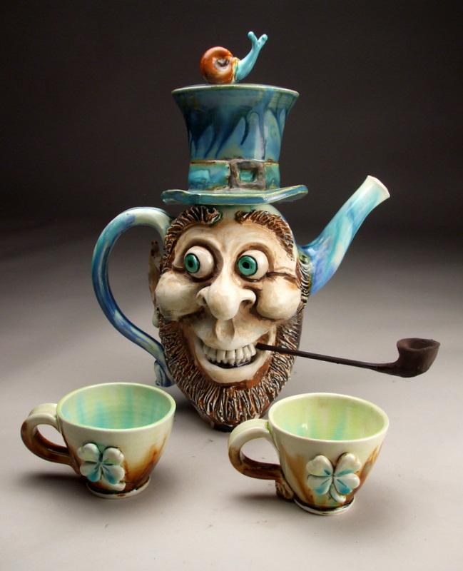 funny mug happy face graftonpottery