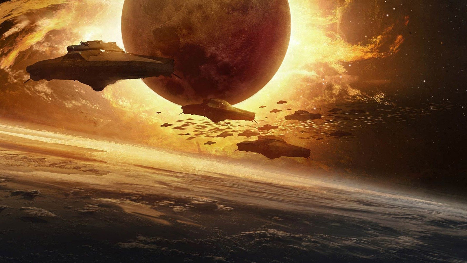 unidentified flying object planet