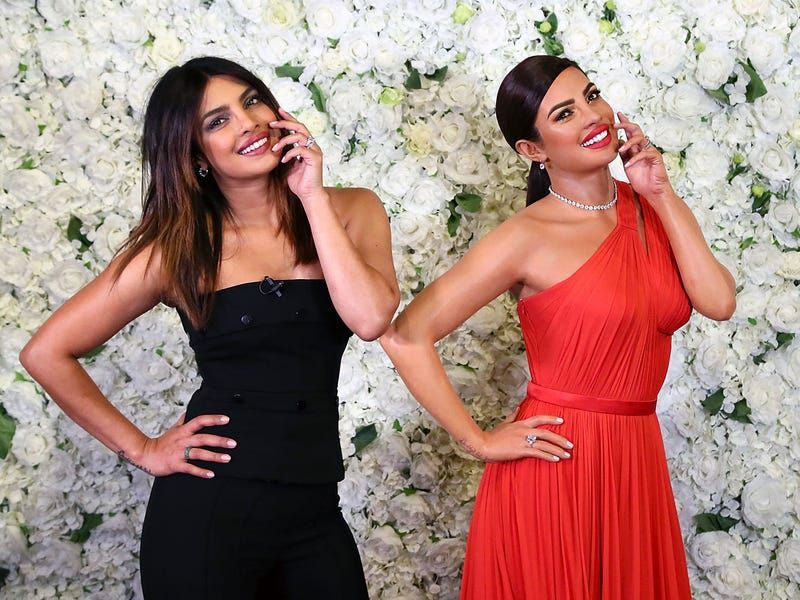 wax figure celebrity priyanka chopra london museum