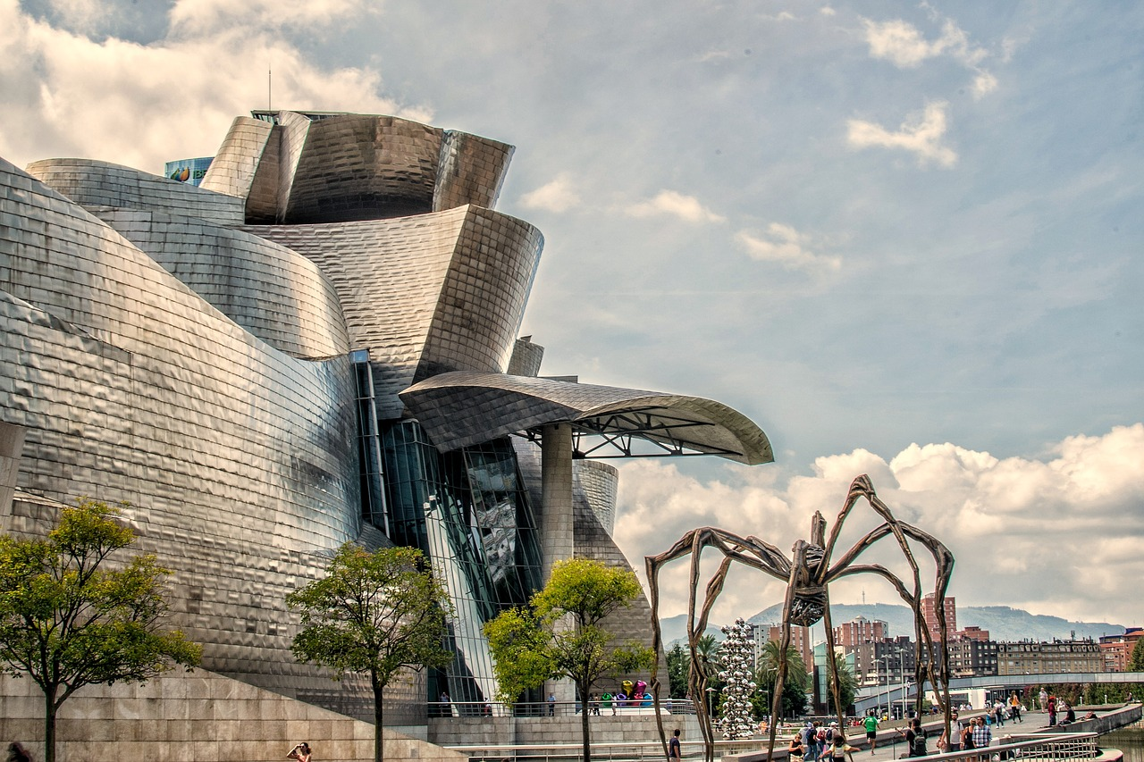 guggenheim museum bilbao beautiful tourist place spain