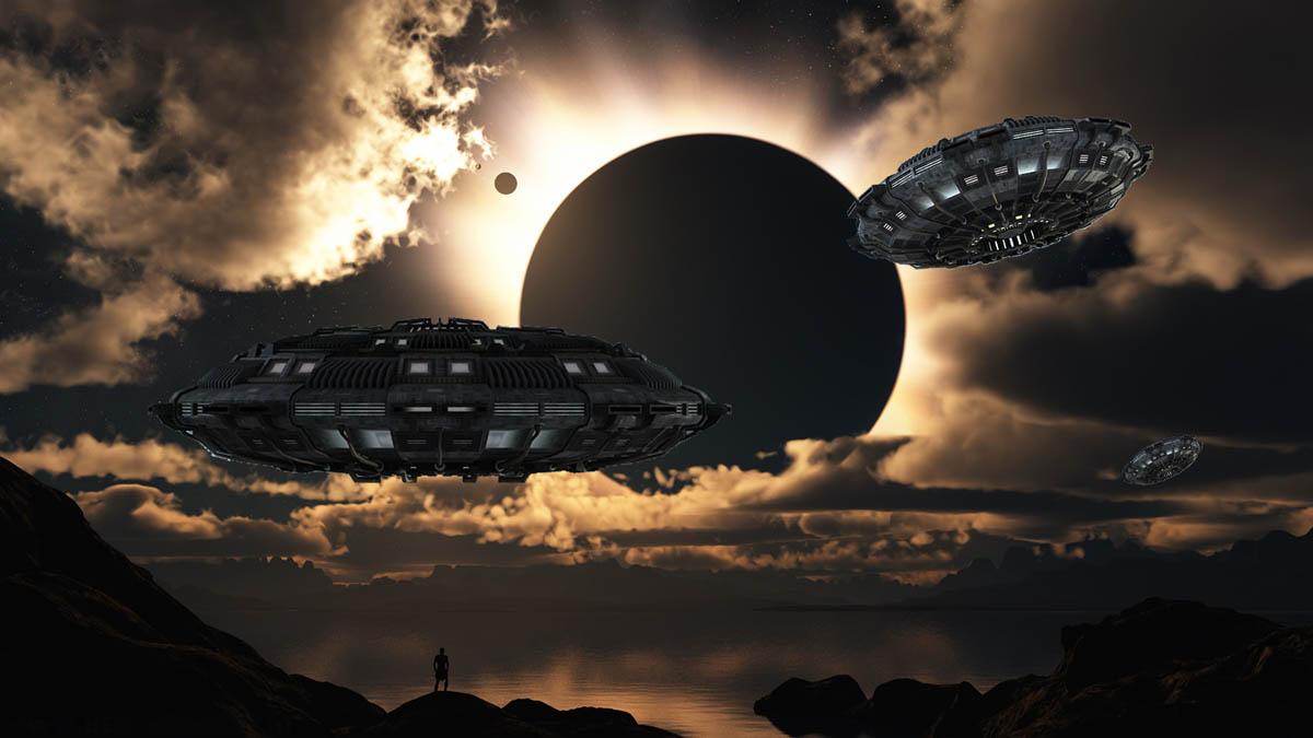 unidentified flying object sky