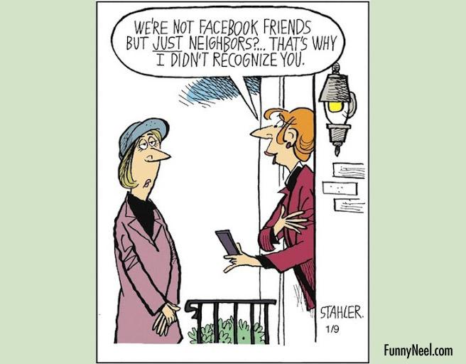 comic illustration friends joke