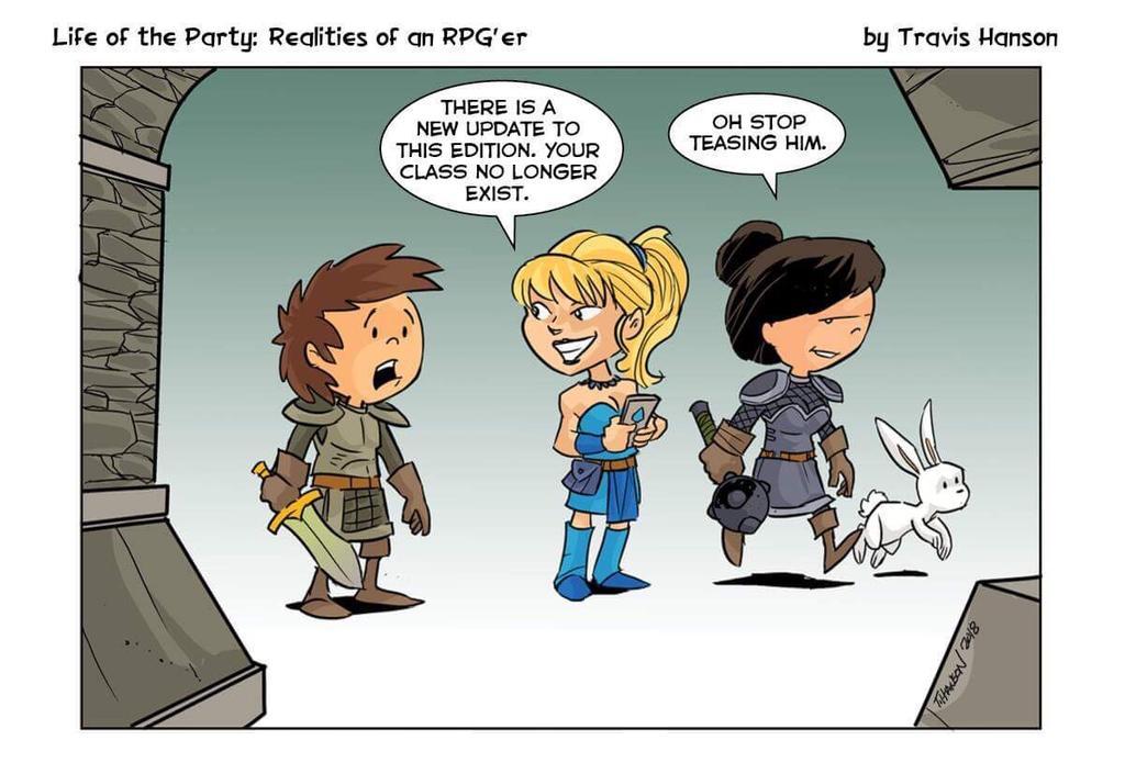 comic illustration game update travis johnson