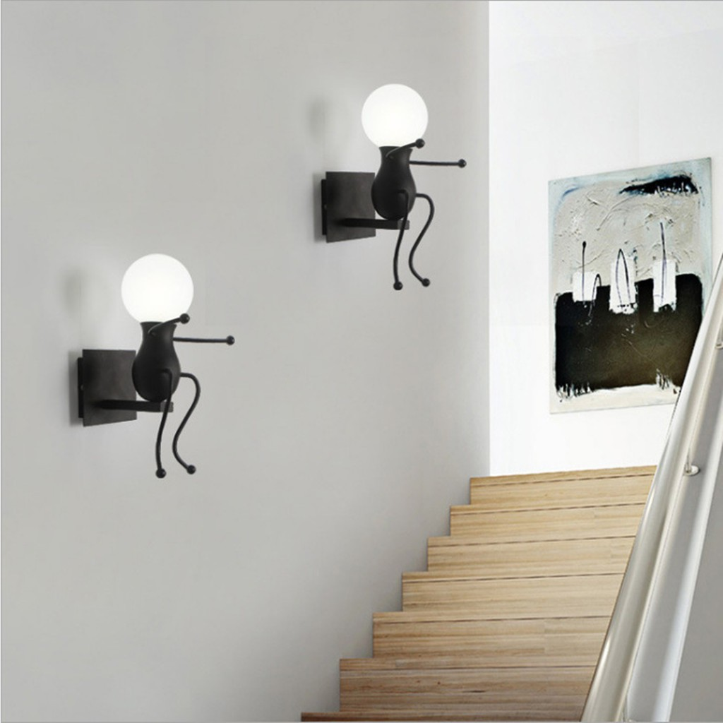 funny light wall lamp