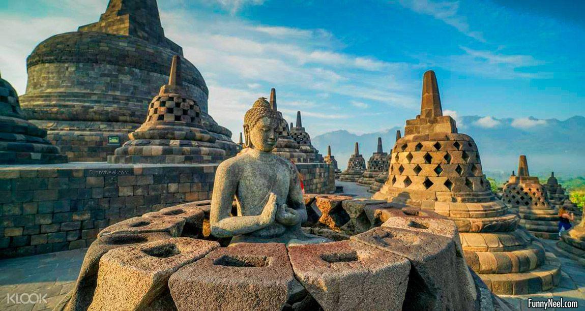 beautiful borobudur temple image indonesia