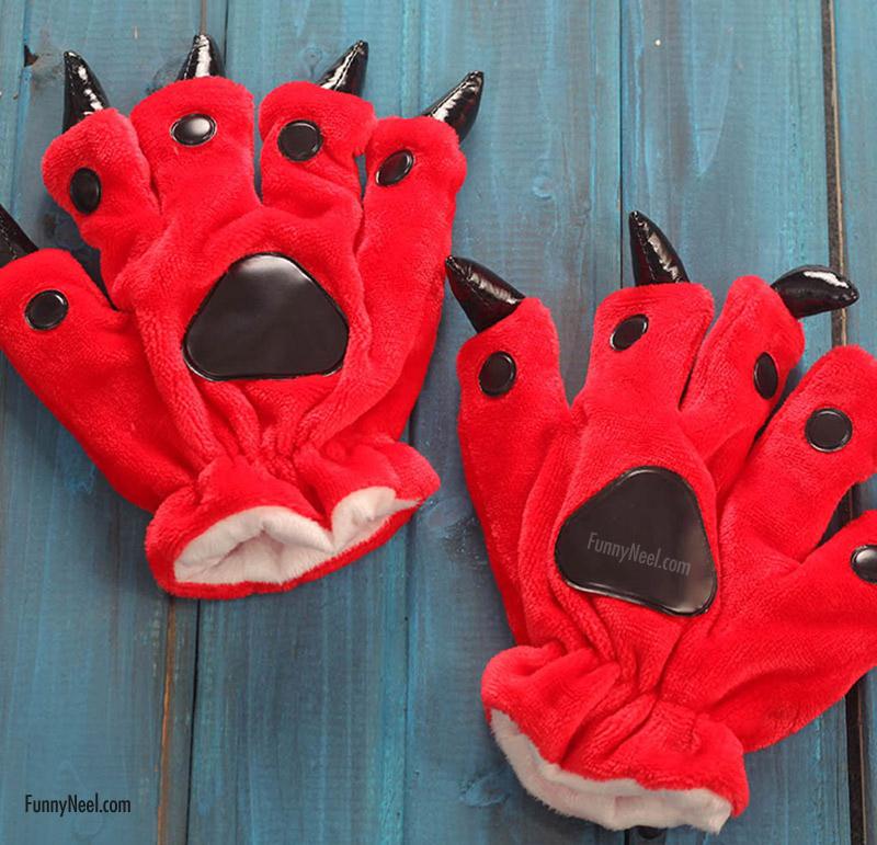weird glove photo halloween