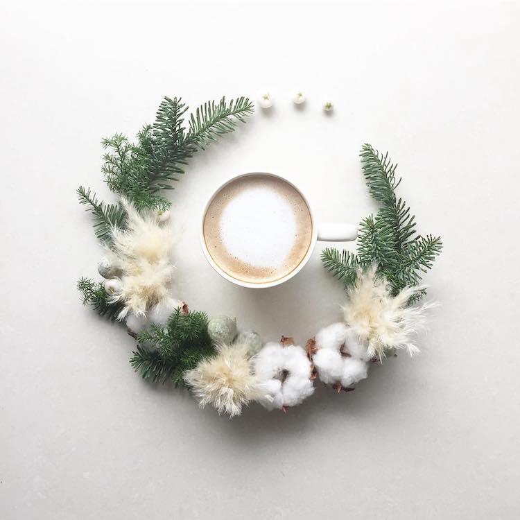 beautiful floral decoration coffee cup sawa