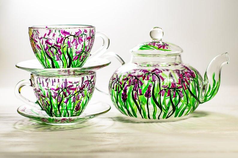 beautiful hand painted mug vitraaze
