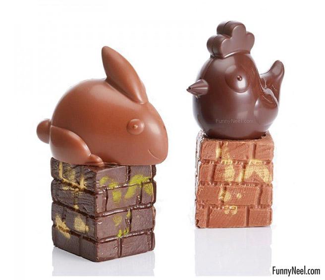 funny chocolate animals