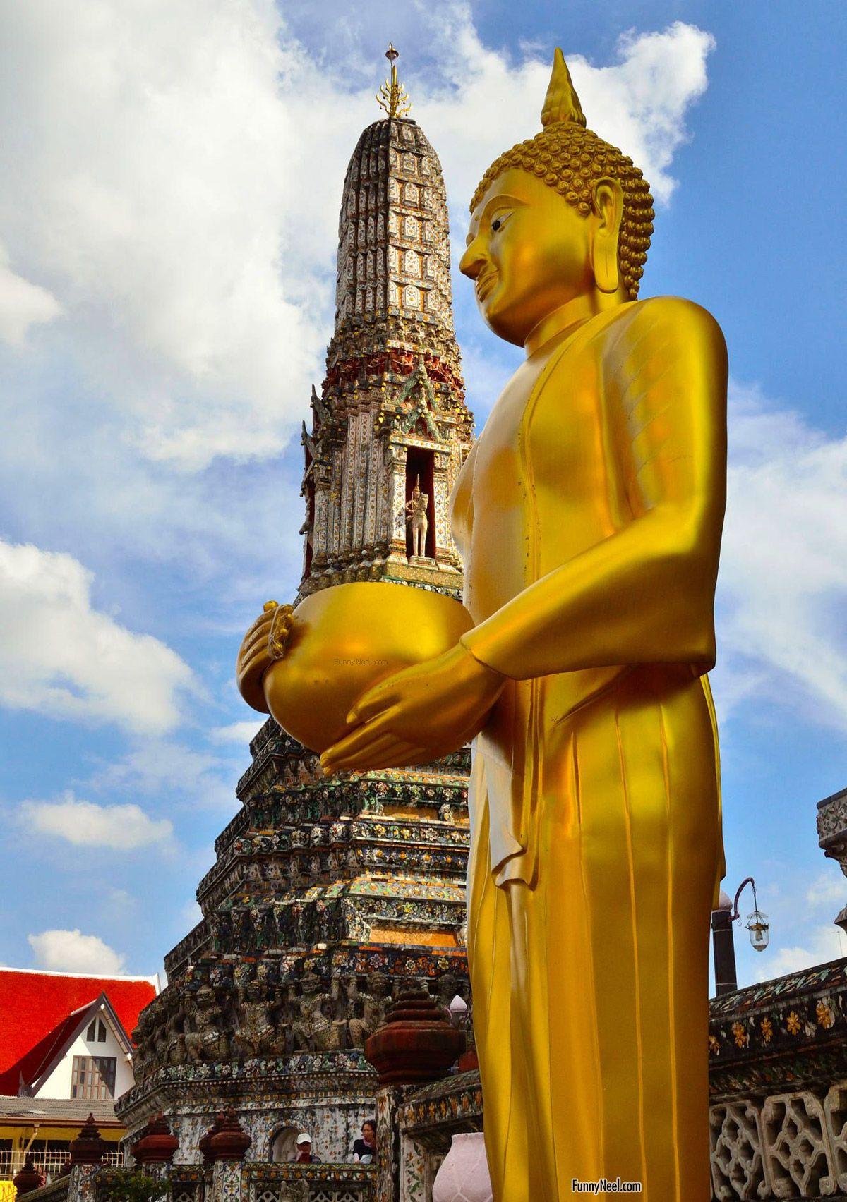 unusual buddha temple image