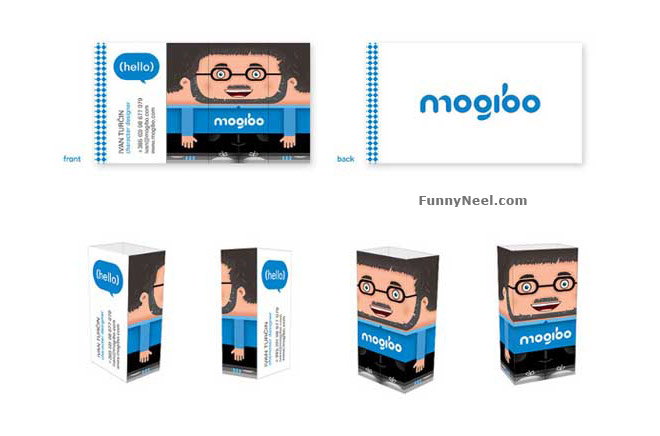 funny business cards design