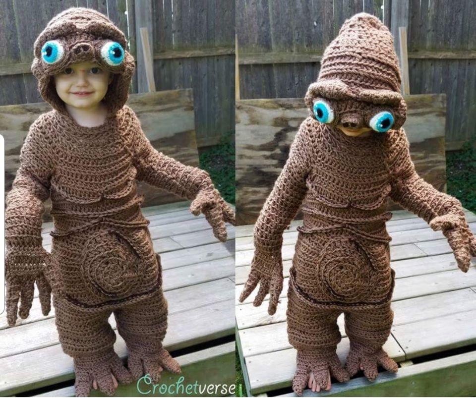 beautiful halloween crochet costume pokorny