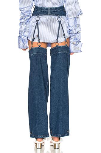 funny pant garter belt
