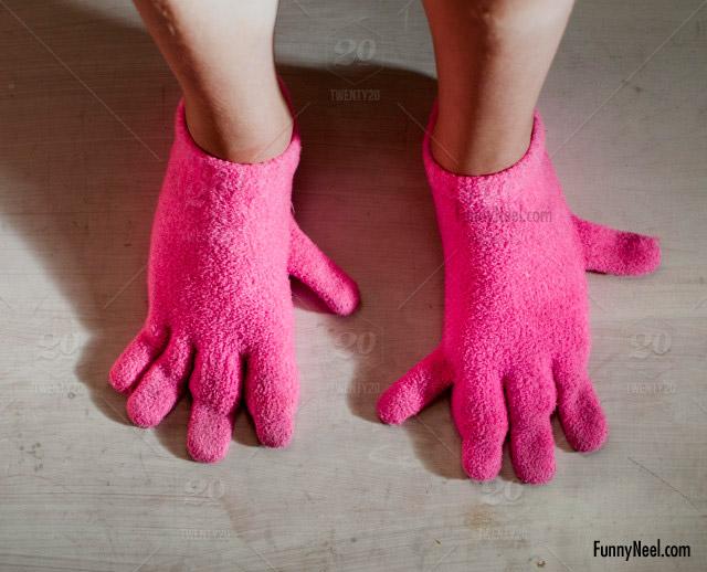 crazy gloves legs